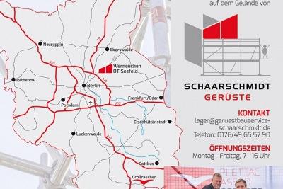 Einladung zur Lagereröffnung der Altrad Plettac Assco GmbH