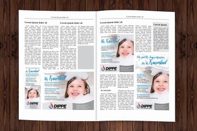 Zeitungsanzeigen Dippe Spremberg