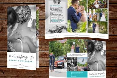 Flyer Hochzeitsfotografie